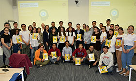 On Shell NXplorers training, held in the framework of Student Energy Challenge