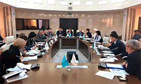 The first meeting of the Working Group on the Development of the Sectoral Agreement in the oil and gas, oil refining and petrochemical industries of the Republic of Kazakhstan for 2020-2022